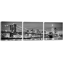lienzos blanco y negro - Feeby Frames - Amazon.es
