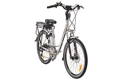e-Ranger Cruiser standard silver electric bike