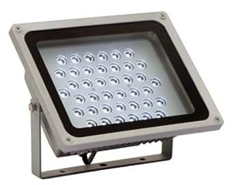 as - Schwabe 46940 40W Profi-LED-Strahler mit Zuleitung 2 m H05RN-F 3G1.0, IP65 Gewerbe, Baustelle