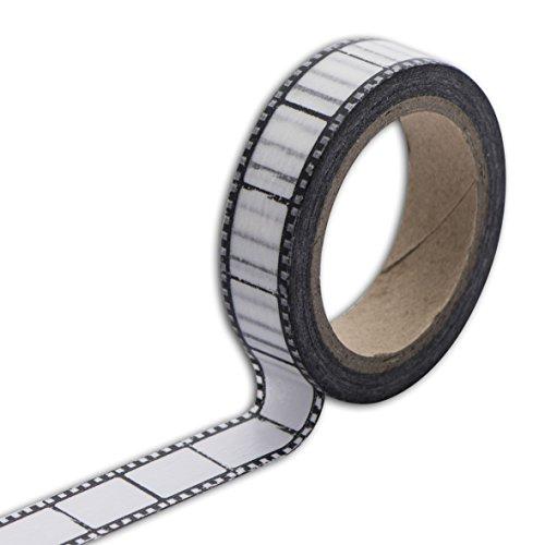 Unbekannt Toga MT100Kreppband Negativ Foto Washi Tape schwarz/weiß 5,5x 7x 1,5cm