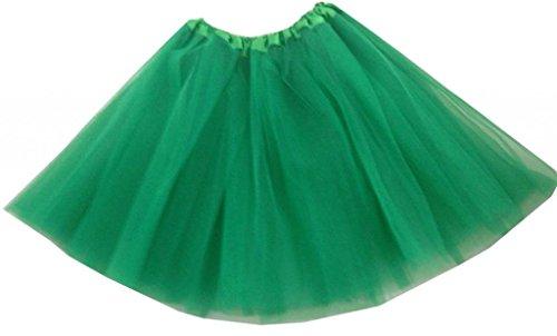 Ballon Grüne Kostüm - Hotportgift Damen Ballon Kleid Gr?n Dunkelgr?n One Size