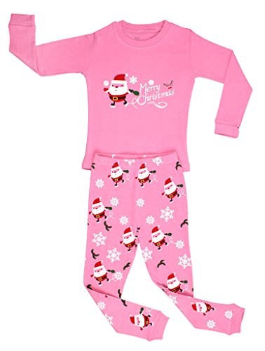 hristmas 2 Piece Kids Pajamas Set 100% Cotton (Size6M-12Y) 10 Years (Nice Girl Dress Up)