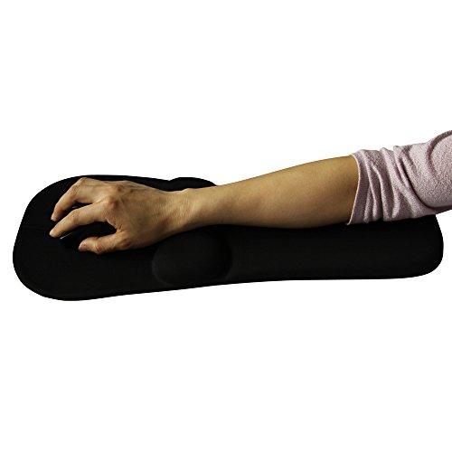 XL-2-Silikon Handgelenk Ellenbogen eine Palme ruhen, Mouse-Pads, Ellenbogen Unterstützung pad , black