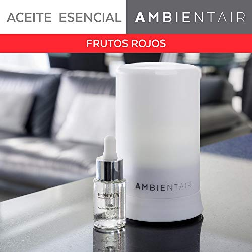 Ambientair. Aceite perfumado hidrosoluble 15ml. Aceite hidrosoluble Frutos Rojos para humidificador...