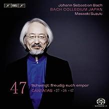 Bach : Cantates sacrées vol. 47 BWV 6, 27, et 47