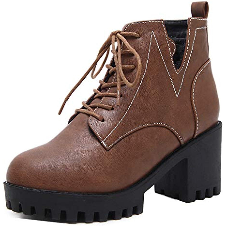 Easemax Femme Rond Classique Plateforme Low Boots Bout Rond Femme Voyage  Bottines - B07KCHNL58 - 3e20cb e7fe5087eb0b
