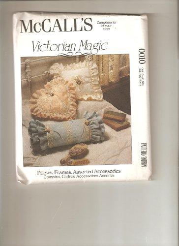 McCall 's Viktorianischer Magic Kissen, Rahmen und Zubehör Schnittmuster # 0010 (Kissen Viktorianische)