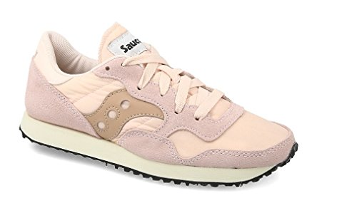 Saucony Womens Tan DXN Vintage Trainers-UK 7 (Saucony-wildleder-turnschuhe)