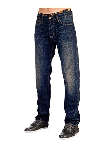 klondike-carhatt-pantaloni-edgwood-basic-blue-blau-28w-32l