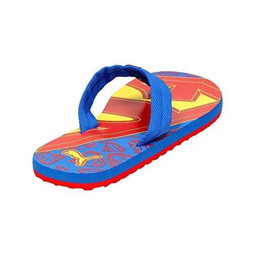 Puma epic flip superman pour garçon bleu jr sandales pour femme idéales pour les loisirs Bleu - Strong Blue-Red-Buttercup