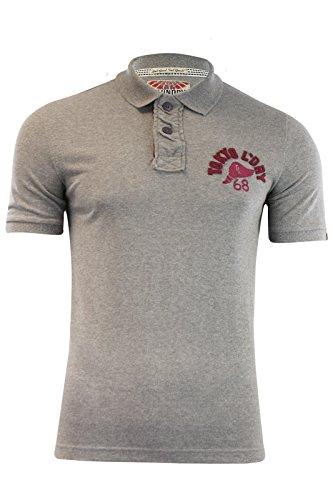 Tokyo Laundry Herren Poloshirt XXL Grau (Mid Grey)