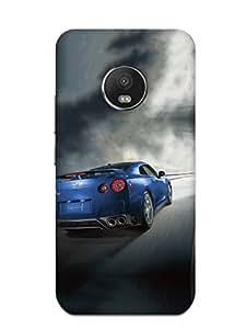 Print Tech BACK COVER FOR MOTOROLA MOTO G5