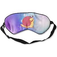 Cute Pink Animal Snail 99% Eyeshade Blinders Sleeping Eye Patch Eye Mask Blindfold for Travel Insomnia Meditation preisvergleich bei billige-tabletten.eu