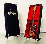 Axman Noel Redding (Jimi Hendrix expérience): Guitare Fender Jazz-Réplique Miniature (Vendeur Britannique)