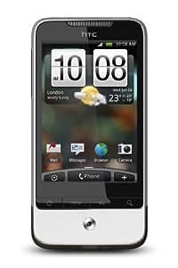 HTC Legend Smartphone (8,1 cm (3.2 Zoll) Touchscreen, 5 MP Kamera, HSPA, Aluminium Gehäuse, Android 2.1 OS) silber