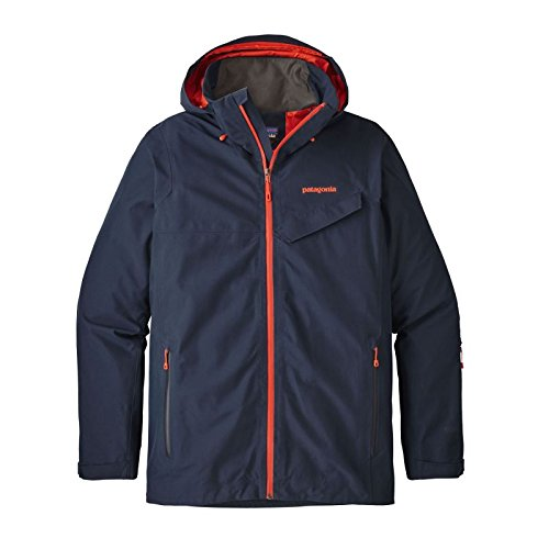 Patagonia Powder Bowl Jacket, Herren XL Blau (Navy Blue)
