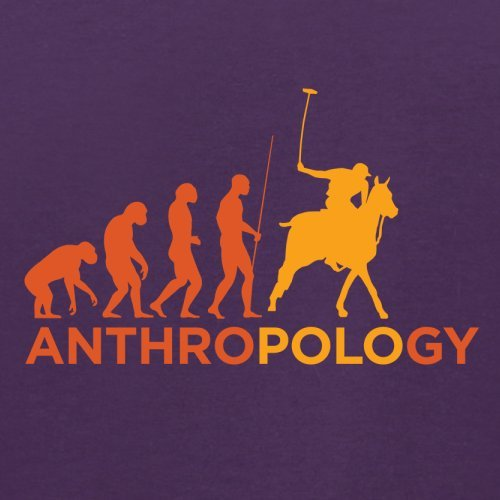 AnthroPOLOgie - Herren T-Shirt - 13 Farben Lila
