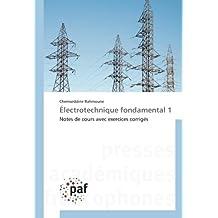 Électrotechnique fondamental 1