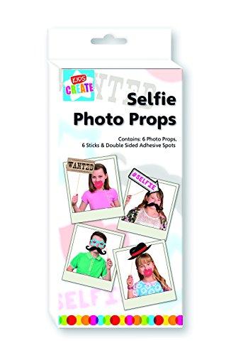 Anker-Kids Create Kunst und Handwerk Foto Prop Set mit Clip Streifen, Kunststoff, Farbe Sortiert