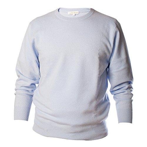 Lona Scott - Pull - Homme bleu pâle