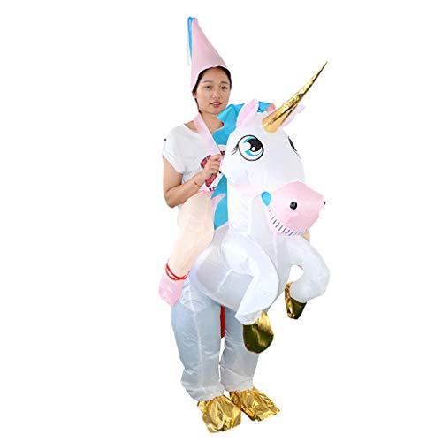 Einhorn Aufblasbar Kostüm - Baoblaze Aufblasbare Einhorn Kostüm Erwachsene Cosplay