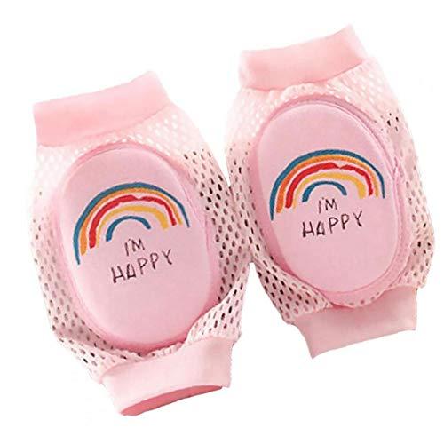 y-Knie-Auflage-Breathable Ineinander greifen Sponge Knieschützer Sicherheit Cotton Baby-Knie-Pads Crawling-Schutz-Kinder Kneepad ()