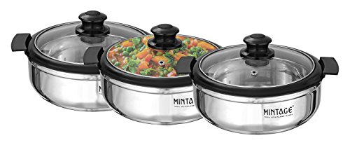 mintage-set-3-stuck-kuchengeschirr-edelstahl-utensil-hot-kasten-mit-glasdeckel