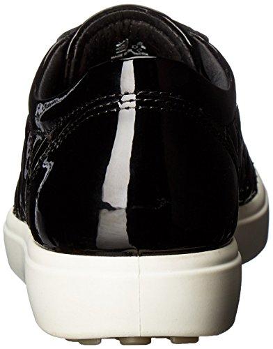 Ecco Soft 7, Baskets Basses Femme Noir (BLACK/POWDER58636)