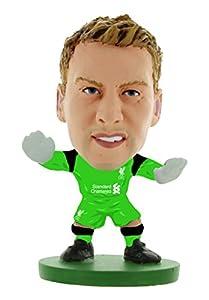 "SoccerStarz SOC403 ""Liverpool Simon Mignolet 2017 Version Home Kit"" Figures by Creative Toys Company"