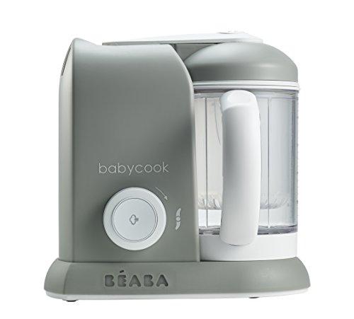 Beaba Babycook - Robot de cocina 4 en 1, color gris