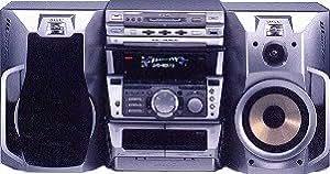 Sony-dHC mDX 10 monobloc avec micro hifi enceintes