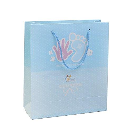 Baby Handprint Footprint Kit Geschenkverpackung Tasche (nicht Verkauf Alone)