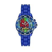 Spiderman kinder analoog kwarts horloge met rubberen armband SPD3415
