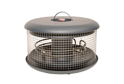 Bellardor energiesparender elektronischer In-Out-Door Wärmepilz Heizpilz für Gastro Garten Wohnzimmer mit dreifacher Wärmeabgabe