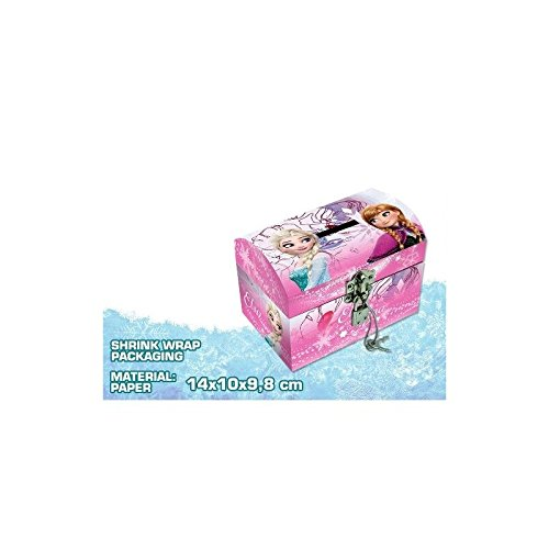 TIRELIRE avec CADENAS La Reine des Neiges frozen Disney 14x10x9.8 cm * NEUF *