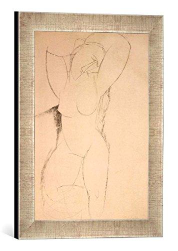 Gerahmtes Bild von Amedeo Modigliani Caryatid, c.1913-14