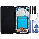 NBVC Display LCD Parti Toolkit Phones rimontaggio + Touch Panel con Telaio for Il Google Nexus 5 / D820 / D821 (Nero) di Riparazione dello Schermo di Vetro Kit + Completa Tool gratuiti