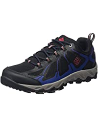 Columbia Peakfreak Xcrsn II Xcel Low Outdry, Chaussures de Randonnée Basses homme, Noir (Black/Bright Red 010)