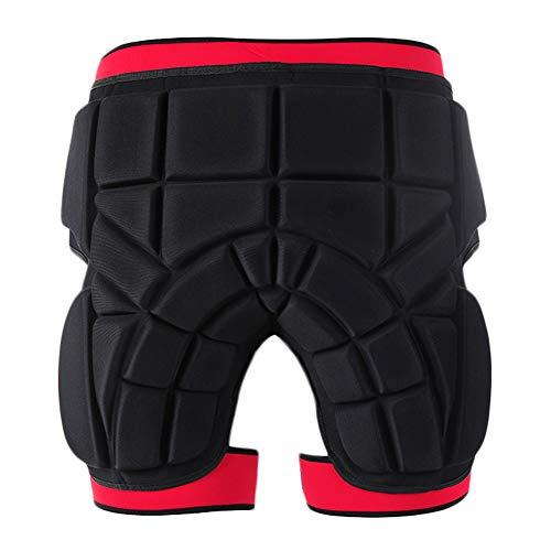 RENNICOCO Pantalones Cortos Acolchados protección