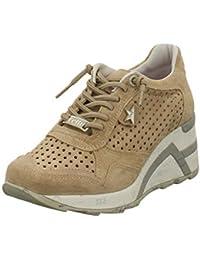 ae0a612cb42028 Cetti Damen Sneaker Sneaker mit Perforation C1143-SRA-nude beige 599147