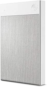 Seagate Backup Plus Ultra Touch 2TB External Hard Drive Portable HDD – White USB-C USB 3.0-(STHH2000402)