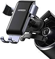 UGREEN Car Phone Holder Car Inverted hook Cradle Auto Clamping Gravity Air Vent hook Car Mount Compatible with