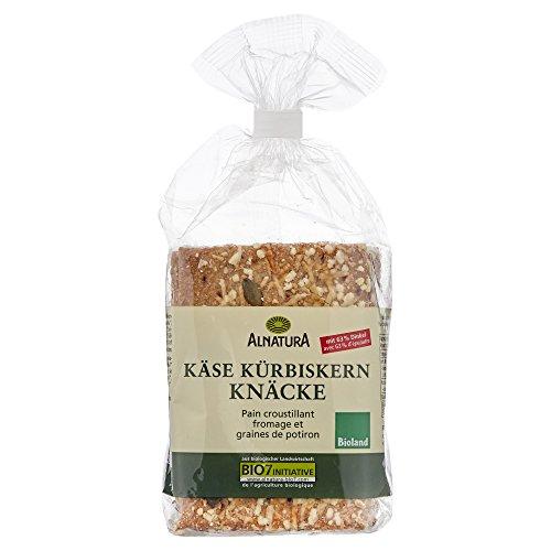 Alnatura Bio Premium Knäcke Käse-Kürbiskern, 200 g