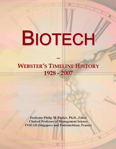 biotech-websters-timeline-history-1928-2007
