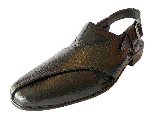Step n Style Men Sherwani Khussa Shoes Pishori Sandals Pakistani Sandal Flat...
