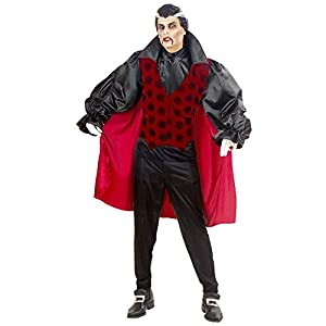 WIDMANN Disfraz de Vampiro Victoriano Adulto Halloween