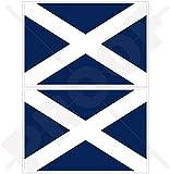 TENERIFFA INSEL Flagge, Fahne KANARISCHE INSELN Spanien, Islas Canarias Spanisch 100mm Auto & Motorrad Aufkleber, x2 Vinyl Stickers