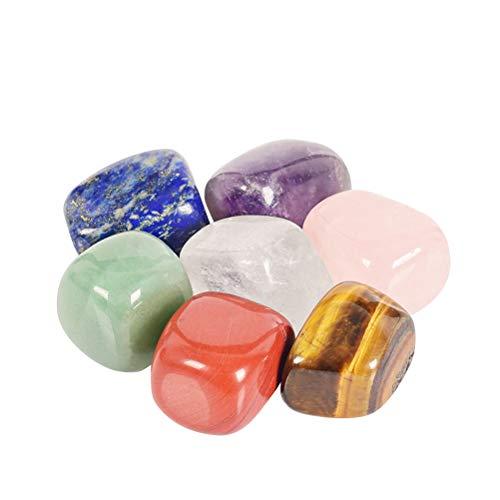 Healifty cristalli naturali di guarigione chakra forma irregolare pietre burattate per terapia terapeutica di guarigione