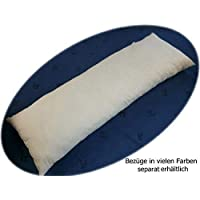 Lagerungskissen mit Zwei Ersetzbaren /& Waschbaren Au/ßenbez/ügen CHRONSTYLE Super Luxuri/öses U-f/örmiges Schwangerschaftskissen Blau, 70x130cm Seitenschl/äferkissen