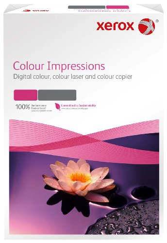 Preisvergleich Produktbild Xerox 003R97669 Premium Farblaser-/Druckerpapier Colour Impressions, DIN A3, 120 g/m², 250 Blatt, weiß